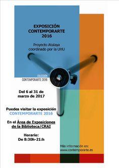 Exposición CONTEMPORARTE 2016.  fotografías, https://www.upo.es/biblioteca/detalle-noticias/Exposicion-CONTEMPORARTE-2016/
