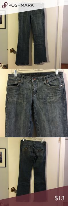 Decree bootleg jeans Cotton with a touch of spandex. 5 pocket. Decree Jeans Boot Cut