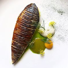"1,749 Likes, 9 Comments - Linking the Culinary World (@cookniche) on Instagram: ""Miso glazed mackerel by @chefdanielwatkins ⭐️ FOLLOW @cookniche for culinary inspirations ⭐️ ⭐️ ⭐️…"""