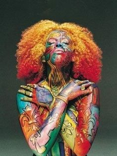 Image result for african american women body paint