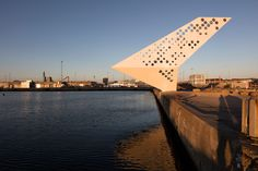 dorte mandrup bases abstract lookout tower by the danish waterfront