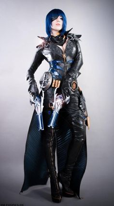 awesome Devastatingly Stunning Aion Gunner Cosplay