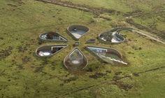 British Football Star Gary Neville Designs Underground Flower Shaped House