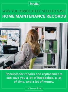 4 Reasons You Absolutely Need to Save Home Maintenance Records #realestate #insidertips