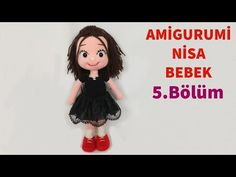 Amigurumi doll nisa free crochet pattern, we share with you all kinds of free patterns related to amigurumi. Crochet Doll Pattern, Crochet Patterns Amigurumi, Amigurumi Doll, Knitted Dolls, Crochet Dolls, Amigurumi For Beginners, Amigurumi Tutorial, Knitting Videos, Free Crochet