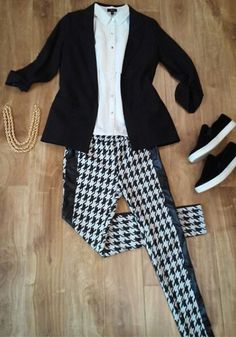 Very J look of the day  style no. VT11527-top : style no. VJ90202-blazer ; style no. VP70434-pants  www.veryj.com #VeryJ #FW14