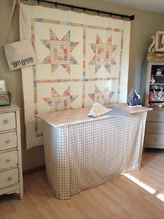 Carried Away Quilting: Ironing Board Makeover & Companion Pressing Mat