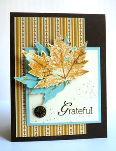 Fall Grateful... by Luv Flowers - Cards and Paper Crafts at Splitcoaststampers