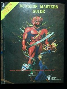 Dungeon Masters Guide - Vintage 1979 - Advanced Dungeons & Dragons - CHERRY !!