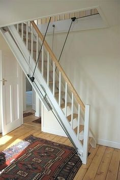 Image result for attic pull down stairs