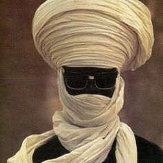 |Tuareg Man of North Africa, 1979.