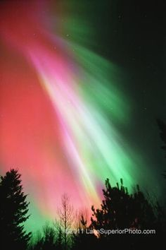 Northern lights, Duluth MN 2011