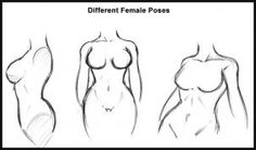 How to Draw a Body, Step by Step, Figures, People, FREE Online Drawing Tutorial, Added by Dawn, August 28, 2010, 3:50:00 am