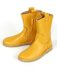 Yellow Keesje boots - Koel for Kids