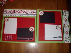 scrapbook layout for cheerleading - Bing Images