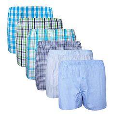 XIAOYAO Calzoncillos Boxer Hombre American Style, Pack de 6 XIAOYAO Ropa Interior Boxers, American Boxer, Patterned Shorts, Alicante, Men, Fashion, Jackets, Short Shorts, Clothing Branding