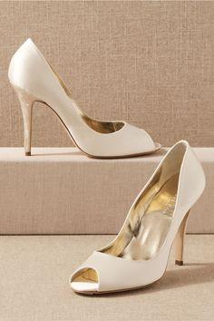 35 Best Peep Toe Shoes for Weddings: Heels, Flats, Booties + Wedges