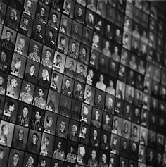 Photographs of Prisoners, Auschwitz, Poland, 1998. Michael Kenna