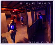 Helios Pro really is the best lasertag playing experience.