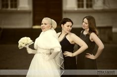 She and the Bridesmaids by Mika Lignell on 500px