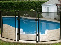 cl ture de piscine amovible enfant s cure esth tique et s curitaire cl ture de piscine. Black Bedroom Furniture Sets. Home Design Ideas