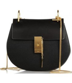 black and gold chain purse - classic