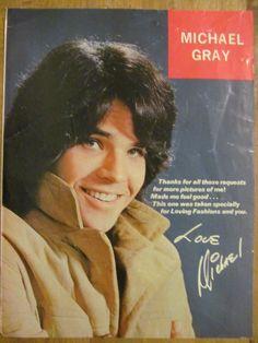 Michael Gray, Shazam, Full Page Vintage Pinup