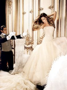 Giselle in Versace