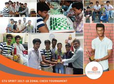 A game for the sharp minds, the GTU SPIRIT 2017-18 CHESS Tournament Ahmedabad zone was hosted by Silver oak College. Here goes the list of winners, the champions turned out to be Silver Oak College with team members Dhairya Dave (7th semester), Kushal Shah (7th semester), Tigmanshu Dave (5th semester), Om Dave (5th semester) and Shivam Jhaveri (1st semester). As the host college, we feel privileged to share that the runner-up college was LD College, and second runner-up ASOIT College.