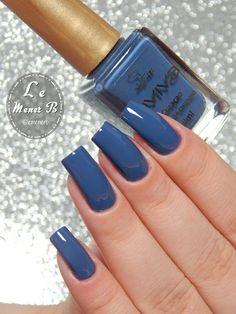 #nail #nails #nailart #bluenail #stealblue #esmalte #polish #unha #unhas #unhasazul #azul #blue #naildesing  #baby #love #cute #brazil #girl #gel #nailcare #mani #manicure #naildesing