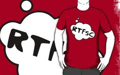 RTFSC T-shirt by Bubble-Tees.com by Bubble-Tees