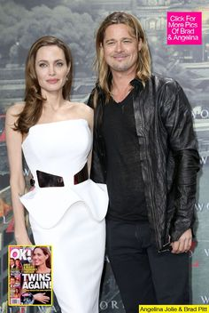 brad pitt and angelina jolie | Brad Pitt & Angelina Jolie Trying For Twins Again — Report