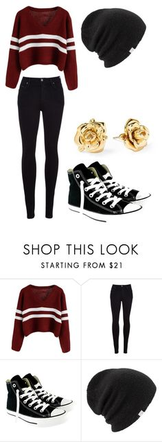 """""""Sans titre #8"""" by mililondres ❤ liked on Polyvore featuring Citizens of Humanity, Converse, Coal and Marc by Marc Jacobs"""