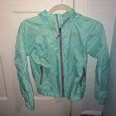 North Face Rain Jacket In great condition. Willing to negotiate on price. Also willing to trade North Face Jackets & Coats