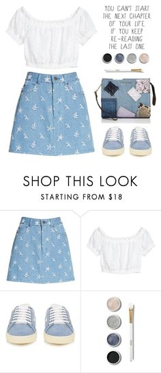 """""""OOTD"""" by jan31 ❤ liked on Polyvore featuring Marc Jacobs, Yves Saint Laurent and Terre Mère"""