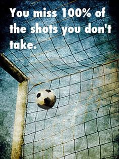 Past: I played soccer since I was five years old. I played defense/goalie. I stopped after high school but still try and play it for fun when I get spare time. Soccer Quotes #Soccer #Quotes