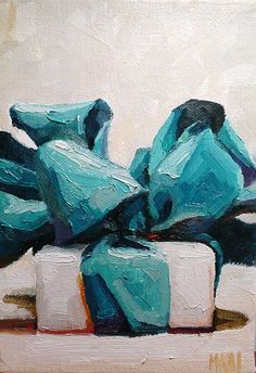 Karen Appleton. I love the textures of the paint.