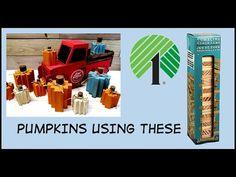 QUICK Pumpkin using DOLLAR TREE Tumbling Tower BLOCKS - YouTube Primitive Fall Crafts, Pumpkin Uses, Tumbling Blocks, Tower Block, Block Craft, Autumn Activities, Dollar Tree, Halloween Decorations, Pumpkins