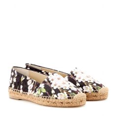 mytheresa.com - Printed brocade espadrilles - espadrilles - shoes - Luxury Fashion for Women / Designer clothing, shoes, bags
