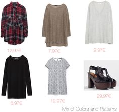 Mix of Colors and Patterns: Zara Mid-Season Sale