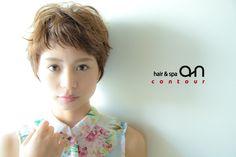 hair K make Nao #ショートスタイル#hair an contour   www.ruttu.com