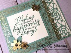 Wedding Cards Handmade, Stampin Up Catalog, Wedding Anniversary Cards, Handmade Greetings, Pretty Cards, Stamping Up, Homemade Cards, Stampin Up Cards, Cardmaking
