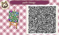 Animal Crossing: New Leaf & HHD QR Code Paths , meowsee9: i made a little path thingy .v. i...