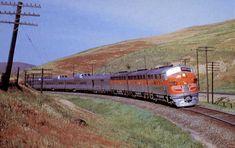 Amtrak #5 CA Zephyr To Denver