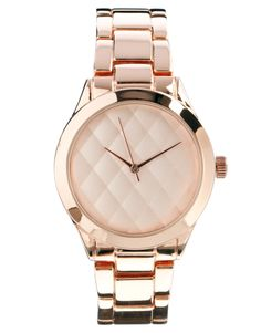 ASOS quilted dial boyfriend watch  Kick start your weight loss today with www.skinnycoffeeclub.com. Plus get 10% off with the code PINTEREST10 at the end of checkout.