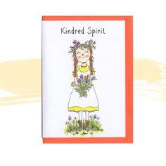 #KindredSpirit #AnneOfGreenGables #annesofgreengablesillustration #bestfriendcard #soulsisters #characterillustration