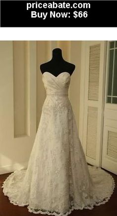 Second favorite wedding dress? Fantastic Vintage A-line Sweetheart Neckline Court Train Lace Wedding Dress Vintage white/Ivory Lace Train Bridal Gown Wedding Dress Custom 6 8 10 12 14 16 Lace Wedding Dress, Sweetheart Wedding Dress, Ivory Wedding, Cheap Wedding Dress, Wedding Gowns, Dress Lace, Tulle Wedding, Wedding Bride, Modest Wedding