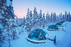 Séjour en Laponie Finlandaise à l'hôtel Kakslauttanen