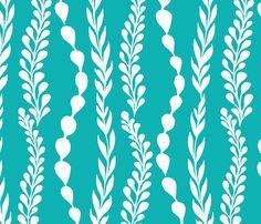 seaweed_spoonflower-01 fabric by amy_reber on Spoonflower - custom fabric