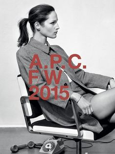 A.P.C. Resort 2015 (A.P.C.) | Vivien Solari shot by Collier Schorr